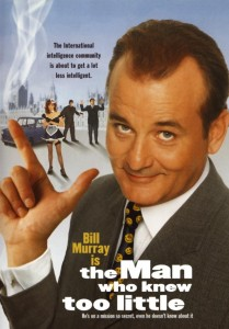 Man Who knew too Little Poster